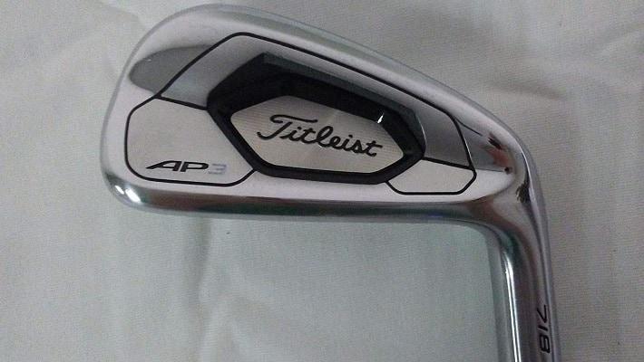 Titleist 718 AP3 Irons – (Steel) (Stiff Flex-4-AW, Right)