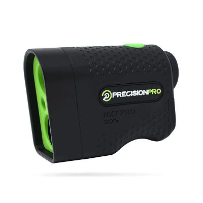Precision Pro Golf, NX7 Pro Slope Golf Rangefinder, Laser Range Finder with Pulse Vibration, 400 Yard Range, 6