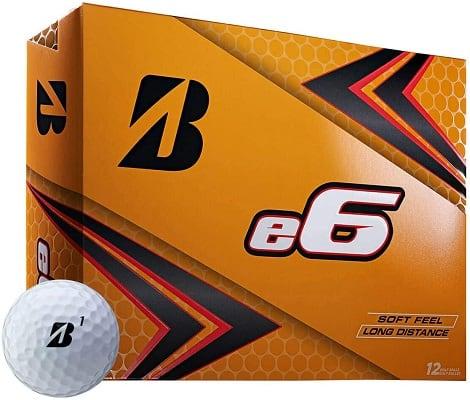 Bridgestone 2019 e6 Golf Balls One Dozen