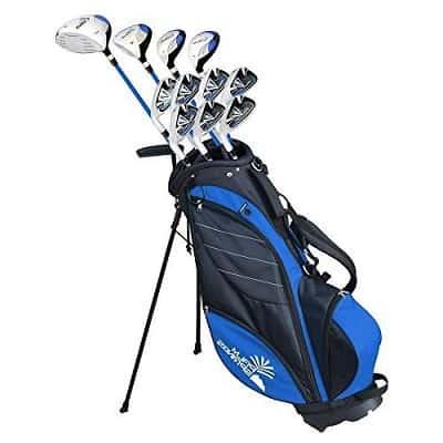 Palm Springs Golf Visa V2 Youth Teenager All Graphite Club Set & Stand Bag