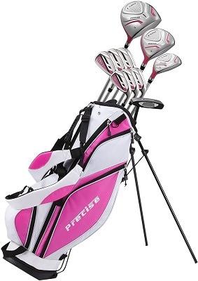 Precise Premium Ladies Complete Golf Club Set